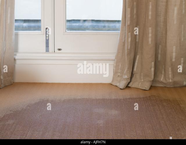 House flood interior stock photos house flood interior for Bathroom flooded wet carpet