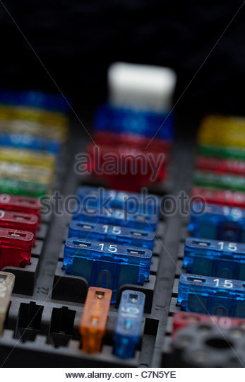 fuse box fuse stock photos fuse box fuse stock images alamy different regular size blade type fuses in car fuse box shallow depth of field