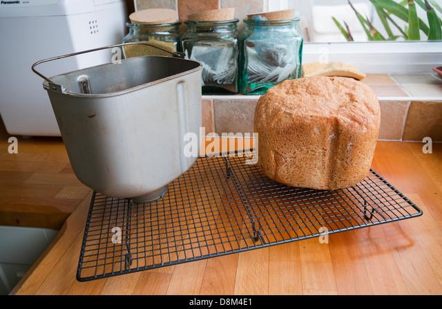 making bread in a bread machine