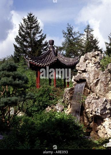 Chinesischer garten stock photos chinesischer garten for Chinesischer garten
