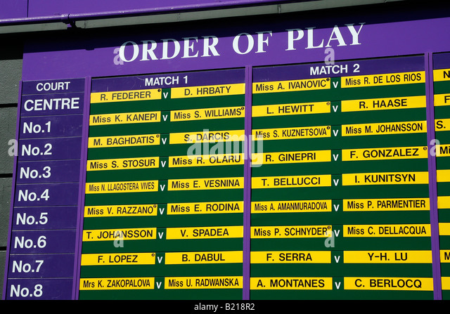 Order Play Wimbledon - image 9