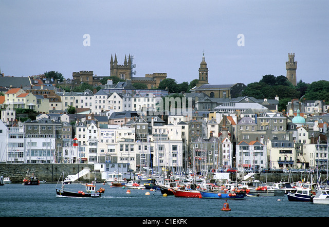 St Peter Port United Kingdom  City pictures : Guernsey St Peter Port Stock Photos & Guernsey St Peter Port Stock ...