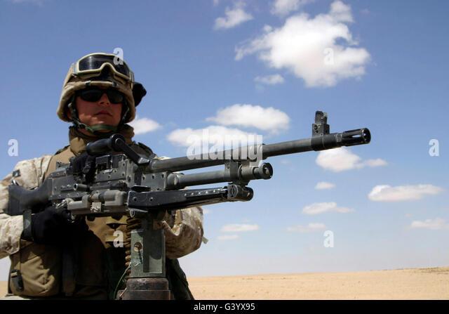 machine guner