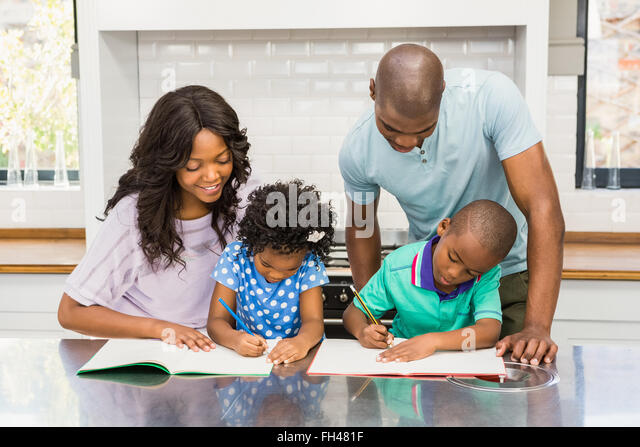 brother helping sister homework stock photos amp brother