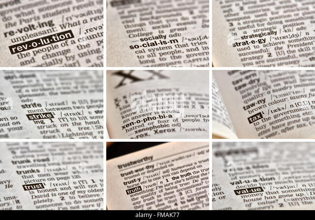 thesaurus and dictionary hard copy