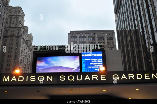 Madison Square Garden Stock Photos Madison Square Garden Stock Images Alamy