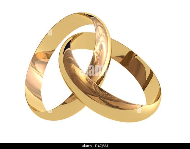 wedding rings stock image - Gay Wedding Rings