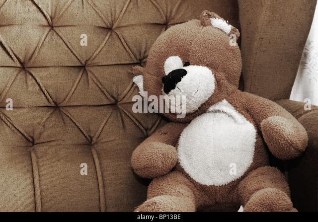 armchair teddy bear stock photos armchair teddy bear