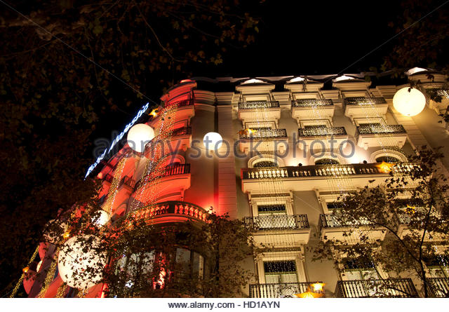 Majestic hotel barcelona stock photos majestic hotel for Noche hotel barcelona