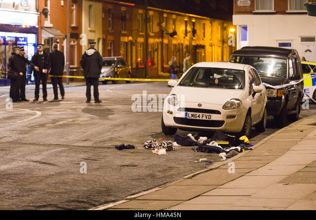 Boy Shot In Pub Car Park Liverpool
