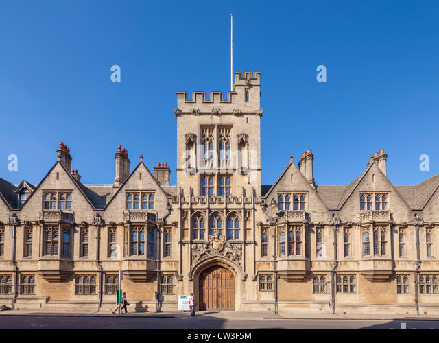 oxford university brasenose college research papers