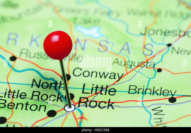 Little Rock Arkansas City Stock Photos Little Rock Arkansas City - Little rock usa map