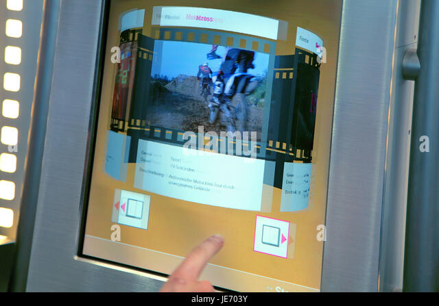 Projection display for three-dimensional software, - Stock Image