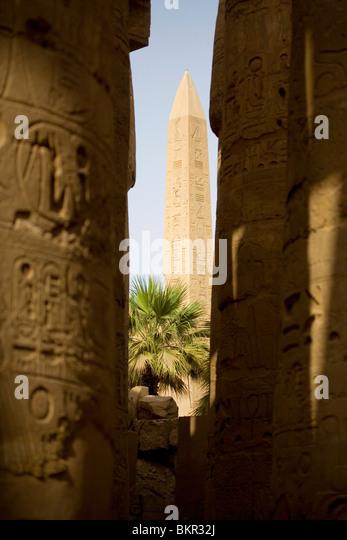 Egyptian stone carving stock photos