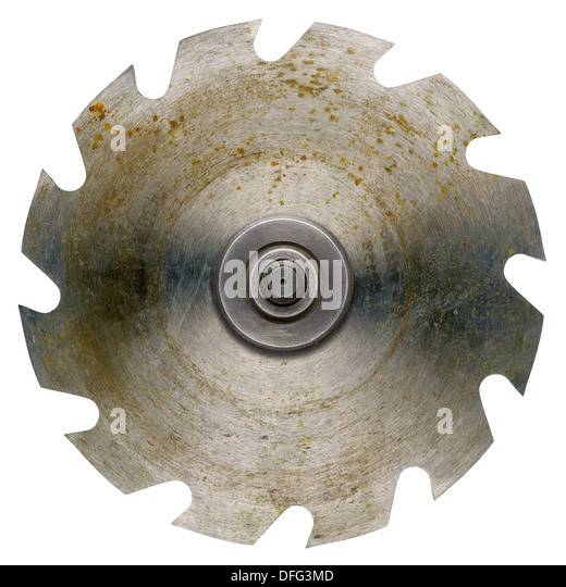 how to clean rusty saw