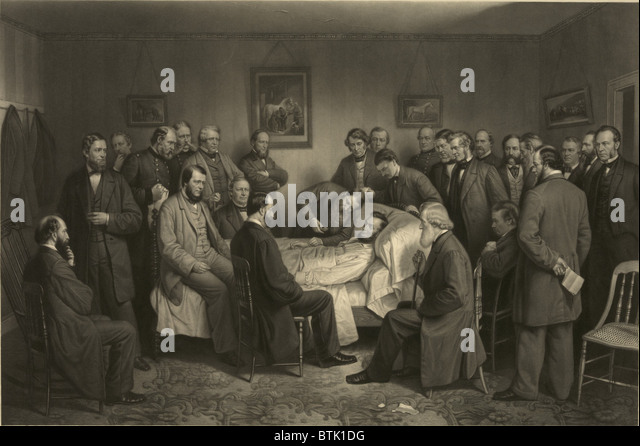 Abraham Lincoln And His Cabinet Stock Photos & Abraham Lincoln And ...