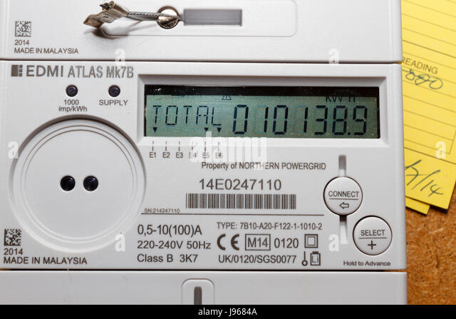 electric meter domestic houseuk j9684a domestic electricity meter uk stock photos & domestic electricity fusebox northern powergrid at crackthecode.co