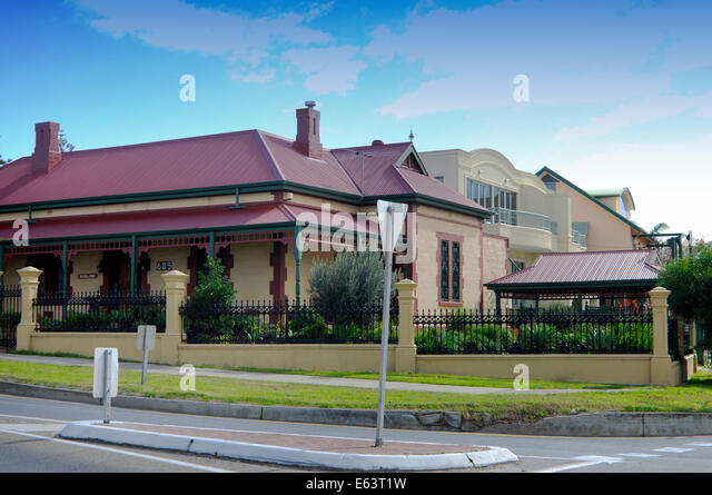 Example Of Traditional Victorian Edwardian Style Architecture Australian Home