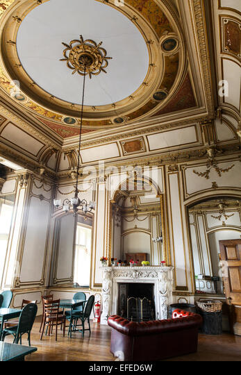 Stately Home Interior England Stock Photos Stately Home