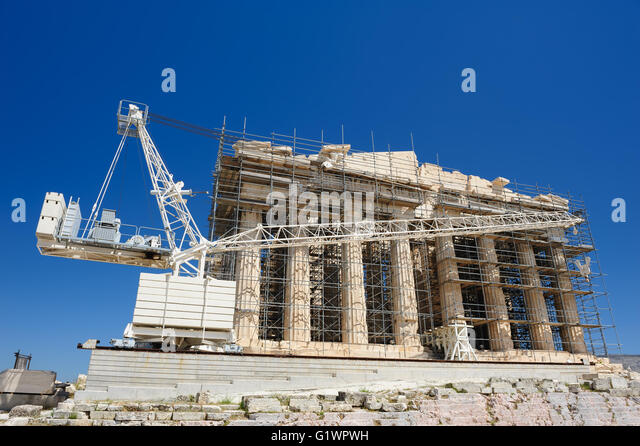 Parthenon Reconstruction Stock Photos & Parthenon ...