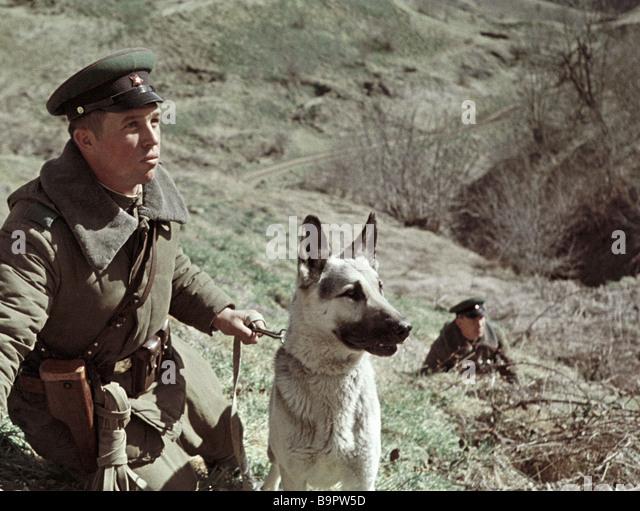 Border Patrol With Dog Stock Photos Amp Border Patrol With