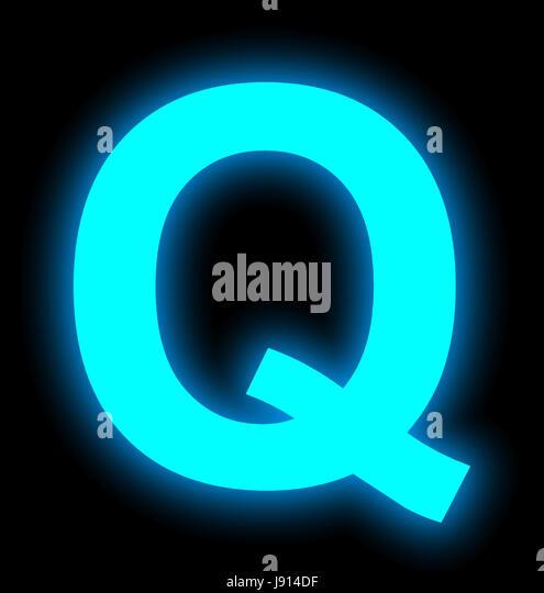 illuminated letter q stock photos & illuminated letter q stock