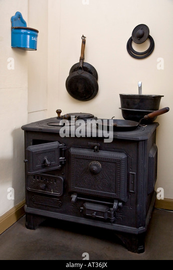 Old Kitchen Range   Stock Image