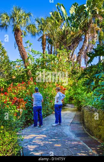 Sunken Garden Florida Stock Photos Sunken Garden Florida Stock Images Alamy