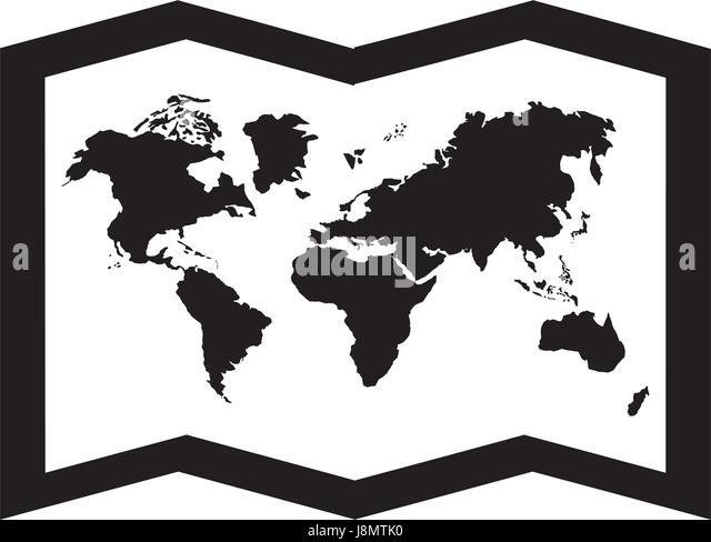 Africa map cartoon stock photos africa map cartoon stock images black icon world map cartoon stock image gumiabroncs Choice Image