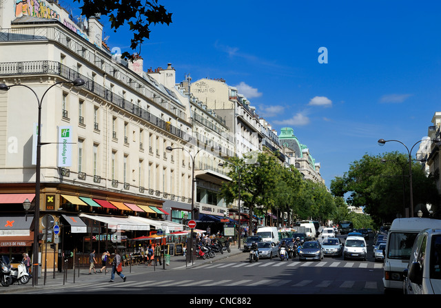 grands boulevards stock photos grands boulevards stock images alamy. Black Bedroom Furniture Sets. Home Design Ideas