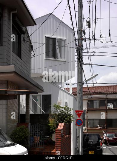 TOKYO APARTMENT JAPAN SOU FUJIMOTO ARCHITECTS CONTEXTUAL VIEW   Stock Image