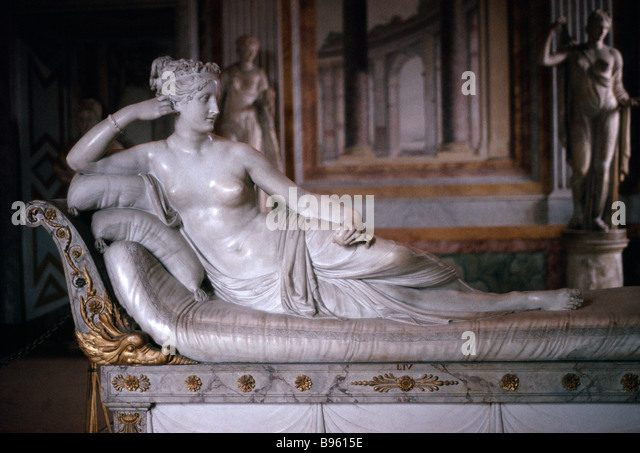 ITALY Lazio Rome Museo Borghese Sculpture of reclining Venus by Antonio Canova 1805 - Stock Image & Reclining Venus Stock Photos u0026 Reclining Venus Stock Images - Alamy islam-shia.org