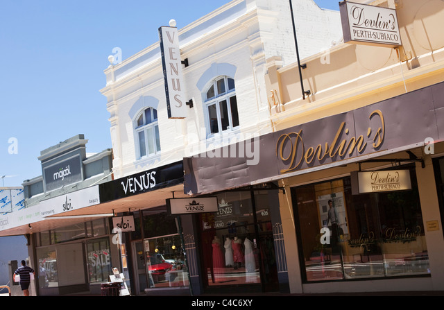 Clothing stores perth