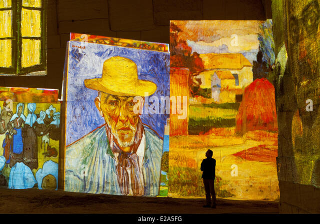 Gogh yellow painting stock photos gogh yellow painting for Les bouche du rhone