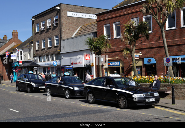 Car Parks In Central Christchurch Dorset