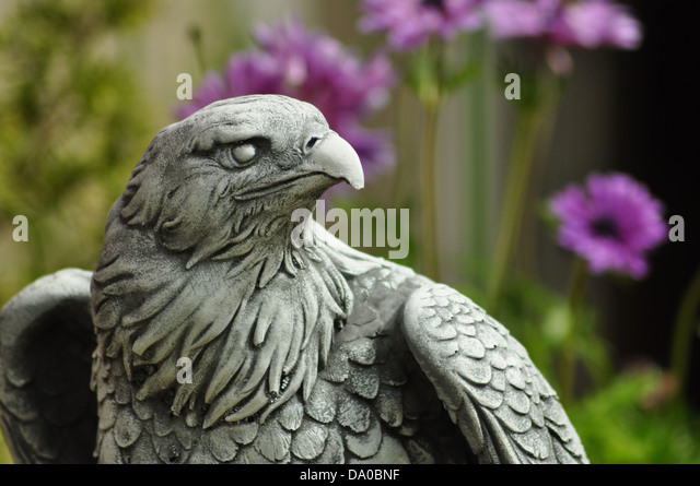 Garden Eagle   Stock Image