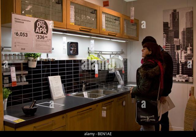 Kitchen Store Interior Stock Photos Kitchen Store Interior Stock