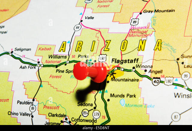 Arizona State Map Stock Photos Arizona State Map Stock Images - Arizona in us map