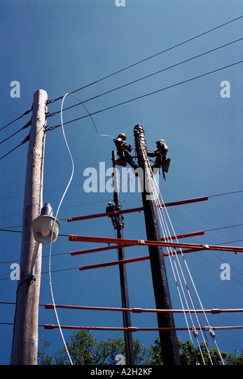 how to run a power line