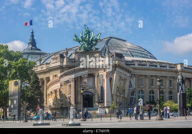 Grand palais paris france stock photos grand palais paris france stock images alamy - Exposition paris grand palais ...