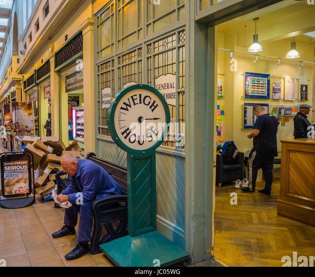 Newcastle Upon Tyne Mall Shops Stock Photos & Newcastle