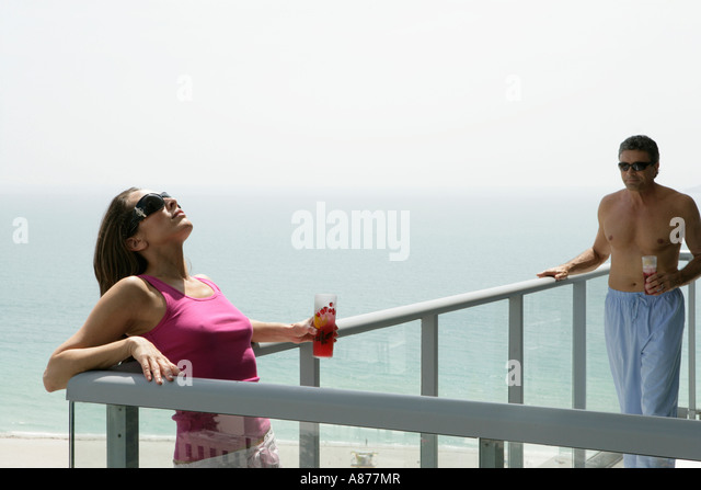 Sunbathing on a terrace stock photos sunbathing on a for Balcony sunbathing