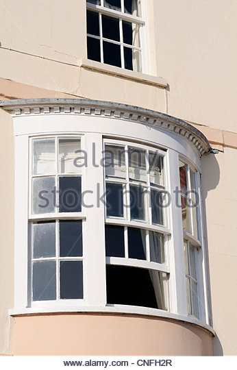 Curved bay windows stock photos curved bay windows stock for Curved bay window