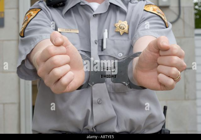 slut in correction officers uniform