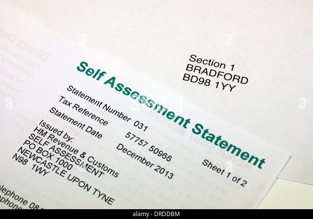 Self Assessment Statement Stock Photos  Self Assessment Statement