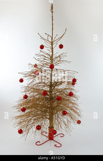 Old Christmas Tree No Needles Stock Photos & Old Christmas Tree No ...