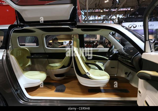 Futuristic Cars Interior