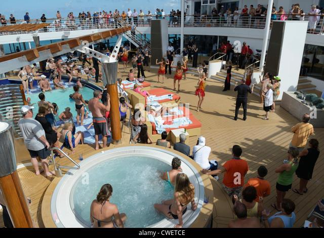 Cruise Ship Party Stock Photos Cruise Ship Party Stock Images - Cruise ship party