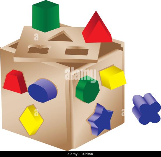 Poke Live Dcf Shapes: Child Colour Sort Stock Photos & Child Colour Sort Stock