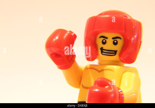 Lego Man Boxing Gloves Stock Photos & Lego Man Boxing Gloves Stock ...